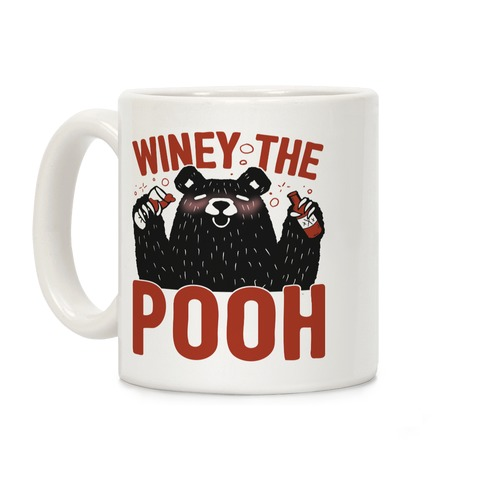 Winey The Pooh Coffee Mug