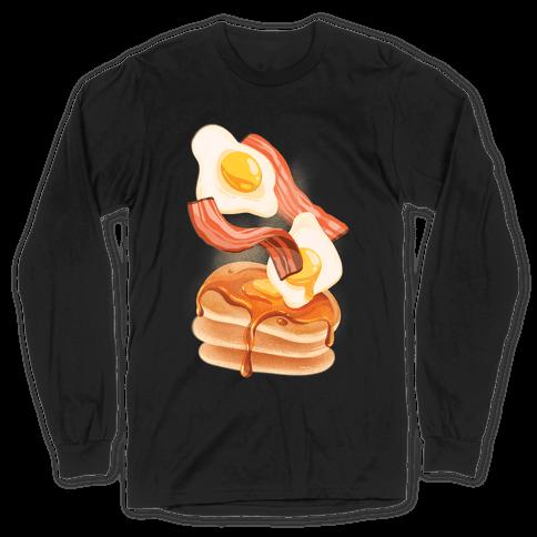 Aesthetic Breakfast Long Sleeve T-Shirt