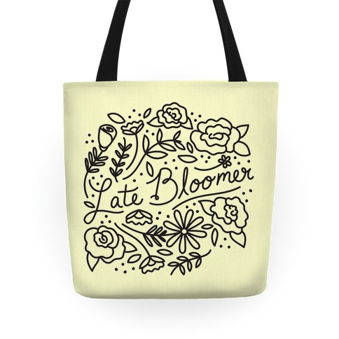 Late Bloomer Floral Tote