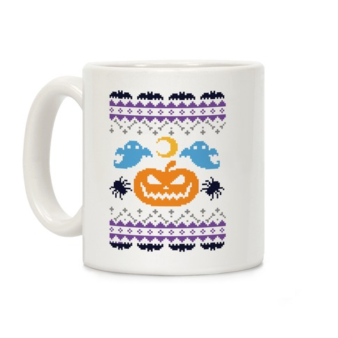 Ugly Halloween Sweater  Coffee Mug