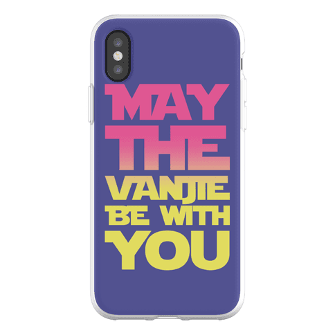 May The Vanjie Be With You Parody Phone Flexi-Case