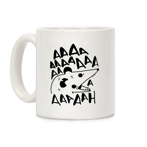 Screaming Possum Coffee Mug