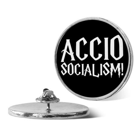 Accio Socialism Parody pin