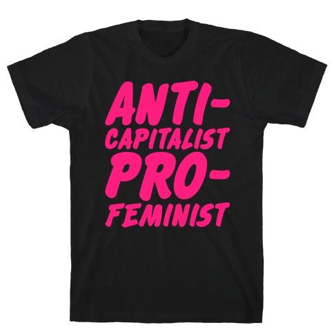 Anti-Capitalist Pro-Feminist T-Shirt