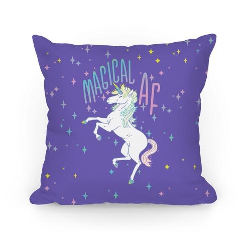 Magical AF Unicorn Pillow