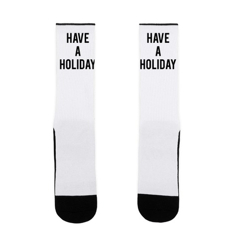 Have a Holiday Sock