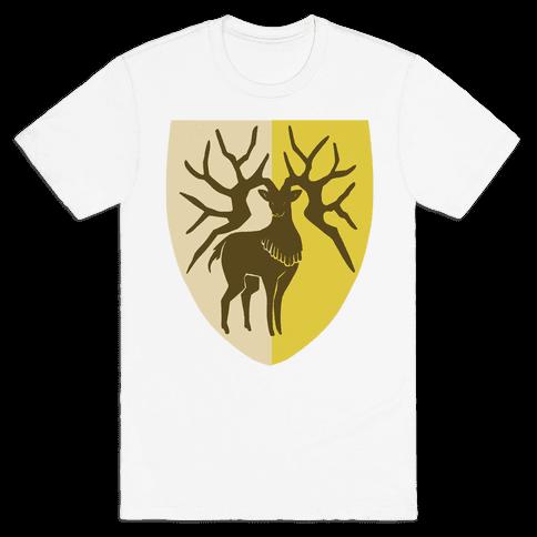 Golden Deer Crest - Fire Emblem Mens/Unisex T-Shirt