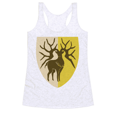 Golden Deer Crest - Fire Emblem Racerback Tank Top