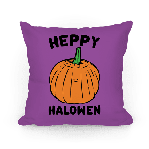 Heppy Halowen Parody Pillow