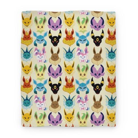 Eeveelution Pattern Blanket