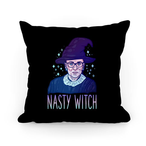 RBG Nasty Witch Pillow