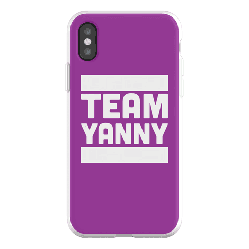 Team Yanny Phone Flexi-Case