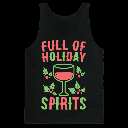Full of Holiday Spirits Tank Top