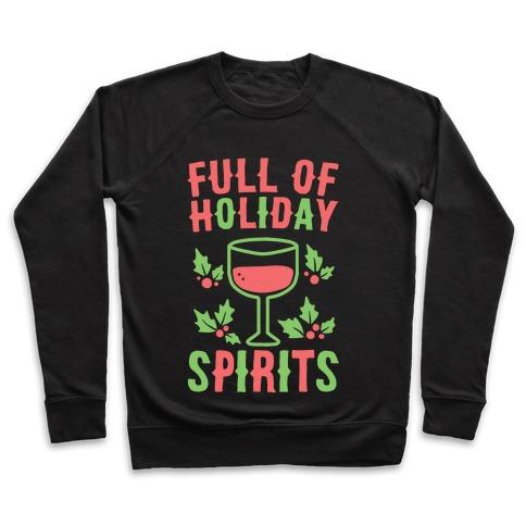 Full of Holiday Spirits Pullover
