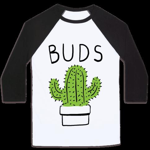 Best Buds Cactus Baseball Tee