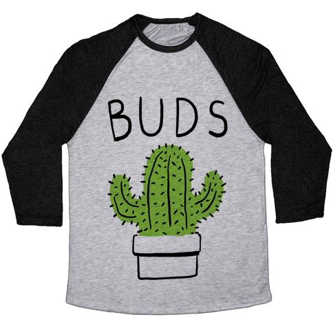 Best Buds Cactus Baseball Tee