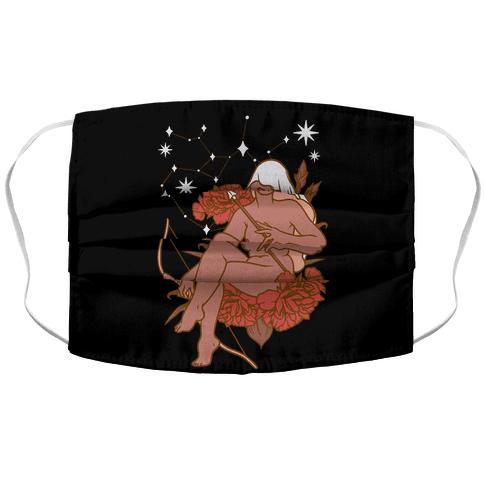 Zodiac Pinup Sagittarius Face Mask