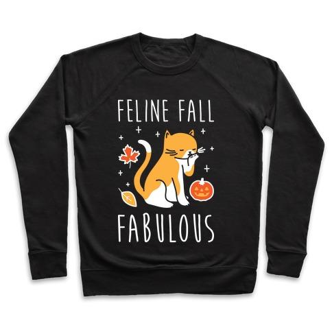 Feline Fall Fabulous Pullover