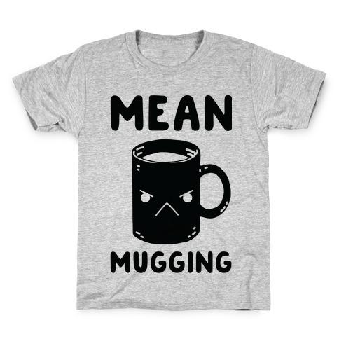 Mean mugging Kids T-Shirt