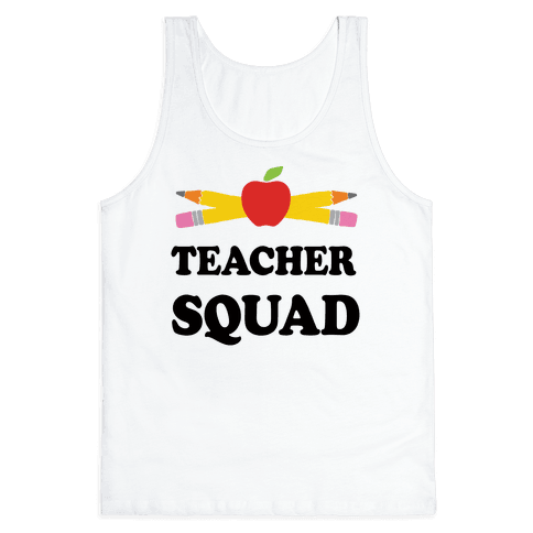 Teacher Squad Tank Top