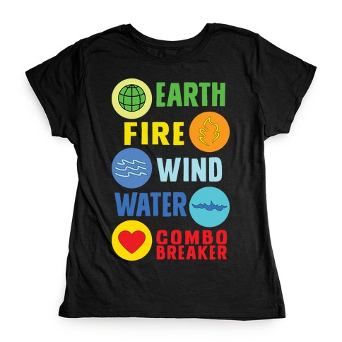 Captain Combo Breaker Womens T-Shirt