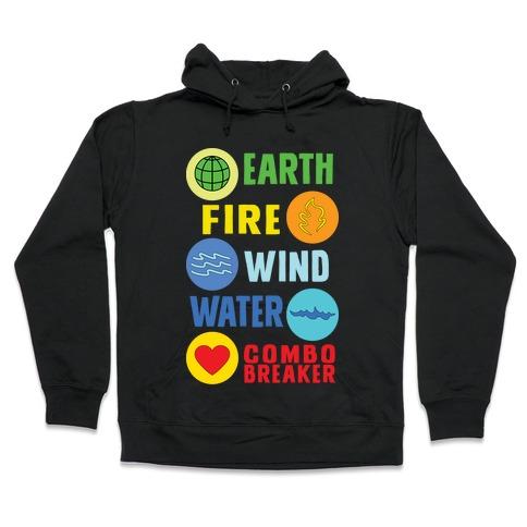 Captain Combo Breaker Hooded Sweatshirt