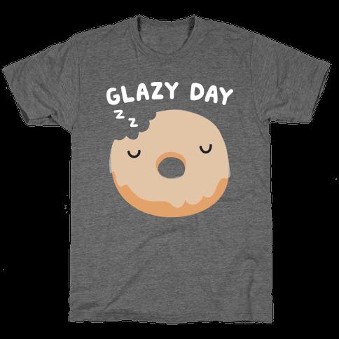 Glazy Day Donut Mens/Unisex T-Shirt