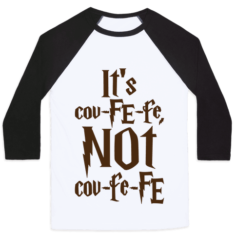 It's Covfefe Not Covfefe Parody Baseball Tee