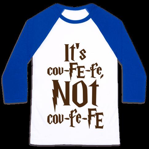 It's Covfefe Not Covfefe Parody Baseball Tee