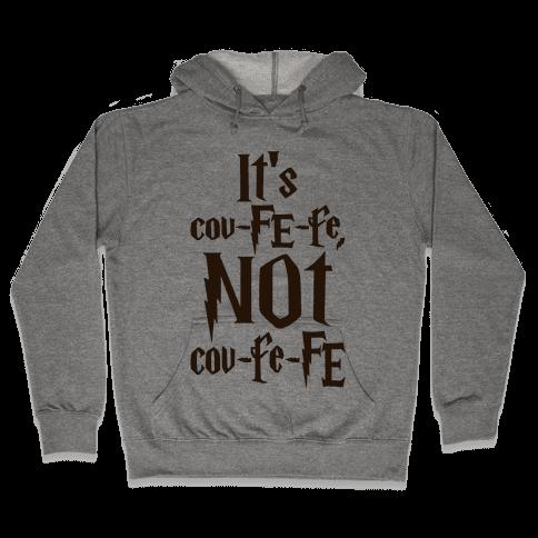 It's Covfefe Not Covfefe Parody Hooded Sweatshirt