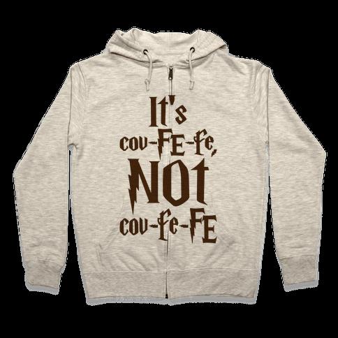 It's Covfefe Not Covfefe Parody Zip Hoodie