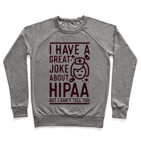 I Have A Great Joke About Hipaa