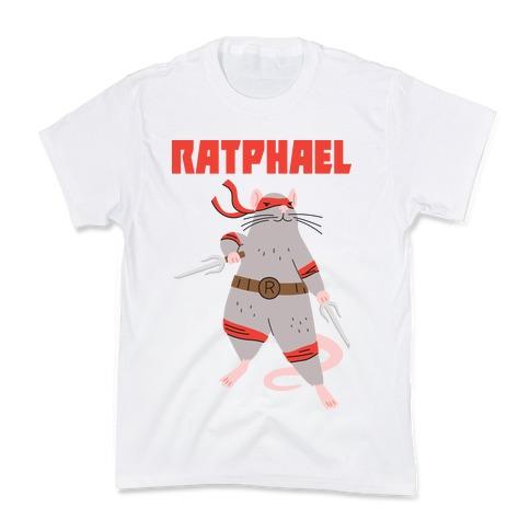 Ratphael (Raphael Rat) Kids T-Shirt