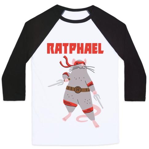 Ratphael (Raphael Rat) Baseball Tee