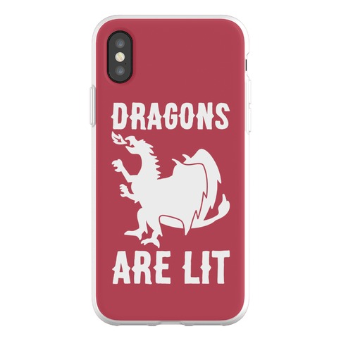 Dragons Are Lit Phone Flexi-Case