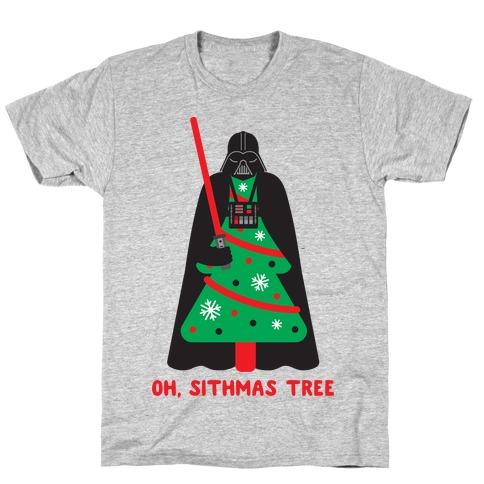 Oh, Sithmas Tree Mens T-Shirt