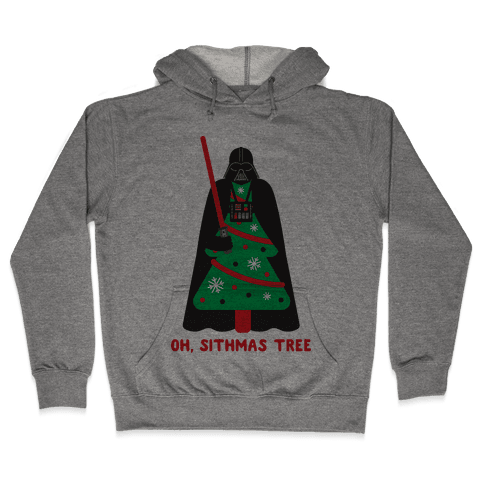 Oh, Sithmas Tree Hooded Sweatshirt