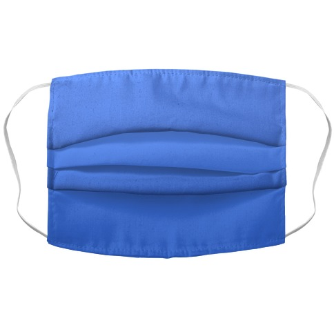 Blue Gradient Face Mask