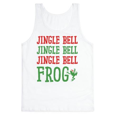 Jingle Bell Frog Tank Top