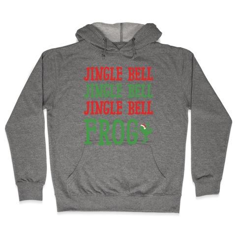 Jingle Bell Frog Hooded Sweatshirt