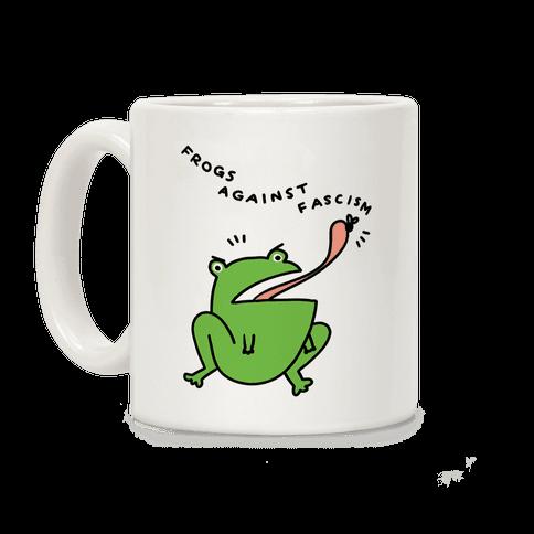 Frogs Against Fascism Coffee Mug