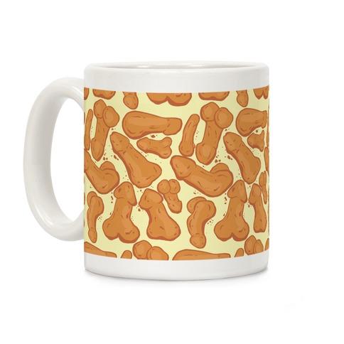 Penis Nuggets Pattern Coffee Mug