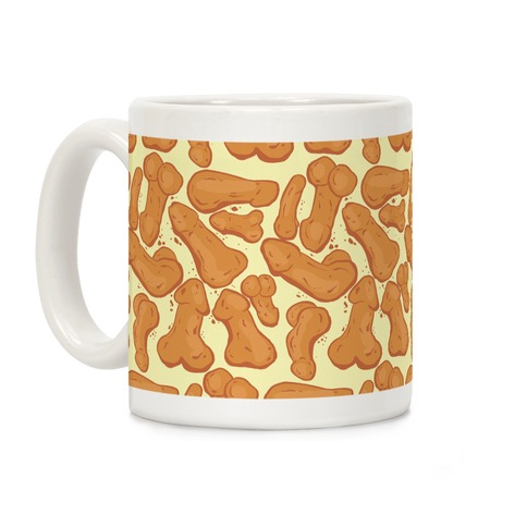 Penis Nuggets Pattern Coffee Mug