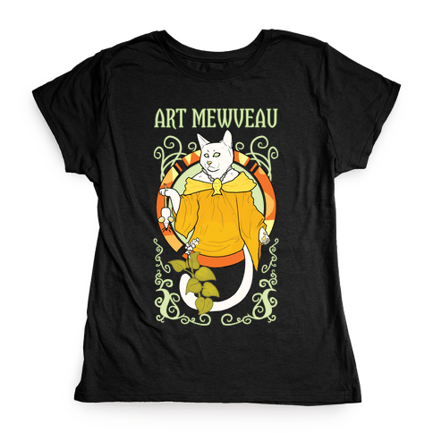 Art Mewveau Womens T-Shirt