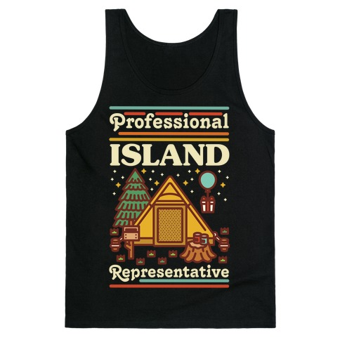 Professional Island Represenative Tank Top