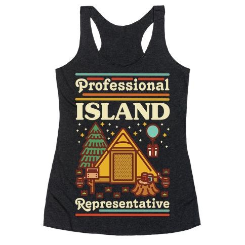 Professional Island Represenative Racerback Tank Top
