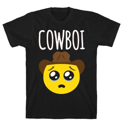 Cowboi White Print T-Shirt