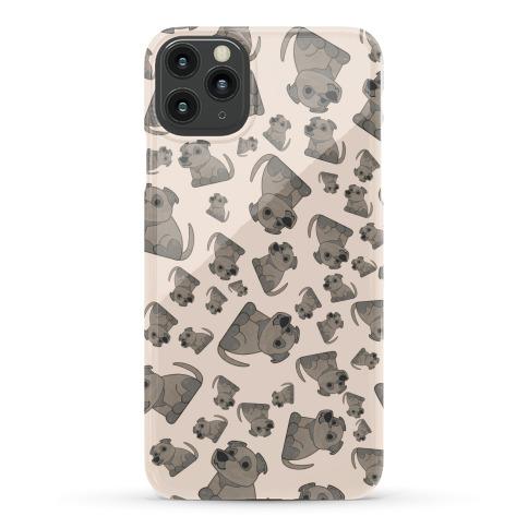 Pit Bull Pattern Phone Case