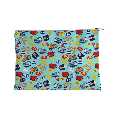 FLCL Anime Pattern Accessory Bag