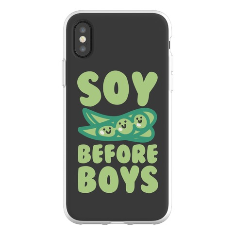 Soy Before Boys Phone Flexi-Case